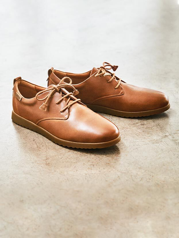 MALLORCA W8C-4628. Pikolinos lace-up shoes in top quality leather and with all the comfort our brand is famous for.