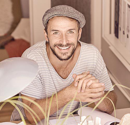 Max Alberti, actor de televisión alemán