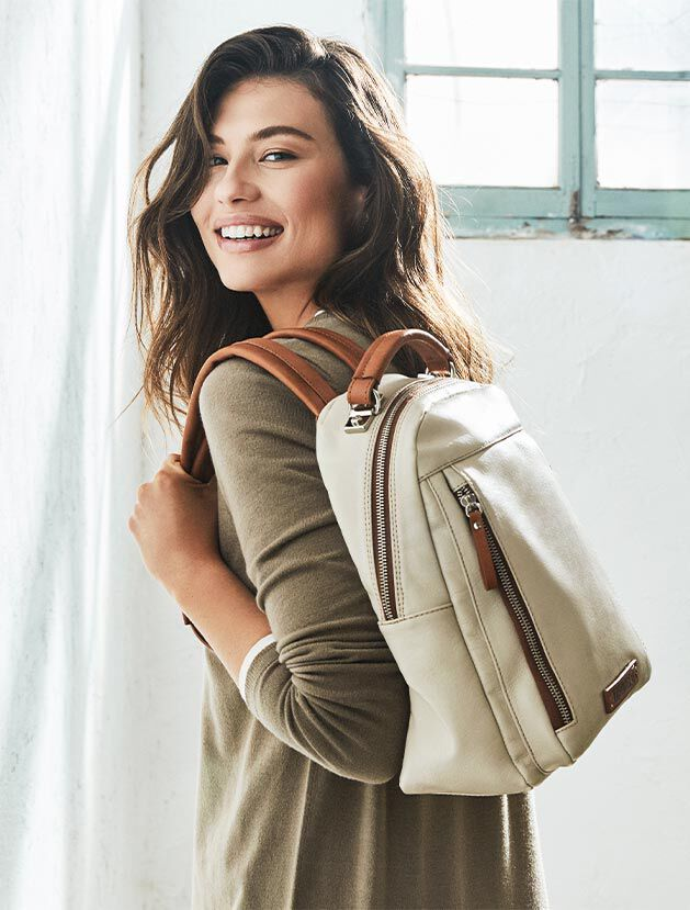 MORELLA WHA-762. Leather shoulder bag for women.