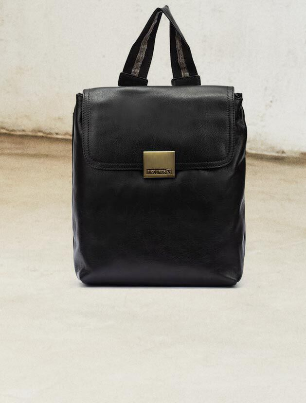 WHA-1063. Leather shoulder bag for women.
