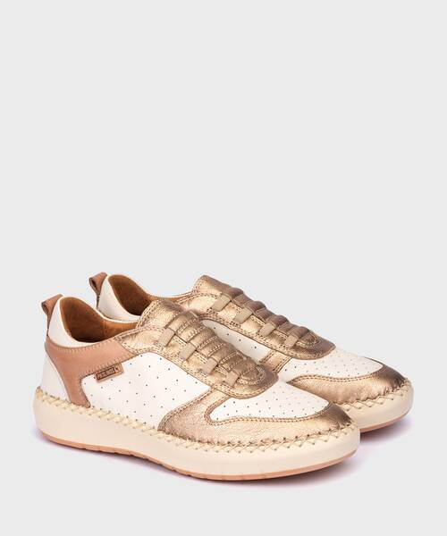 Sneakers | MESINA W6B-6753CLC1 | CHAMPAGNE | Pikolinos