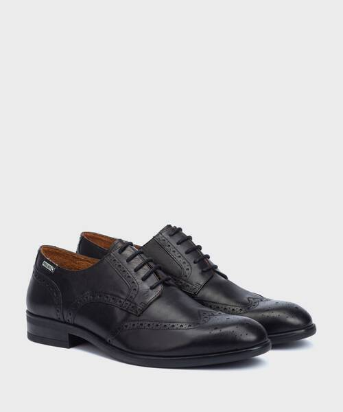 Shoes | BRISTOL M7J-4186 | BLACK | Pikolinos