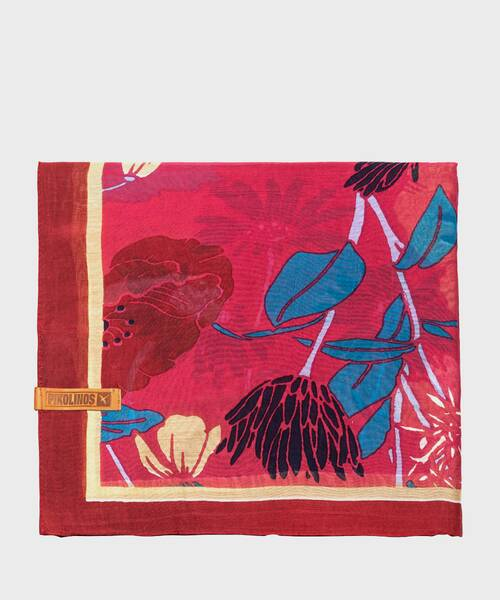 Foulards and scarves | COMPLEMENTOS WAC-F175 | GARNET | Pikolinos