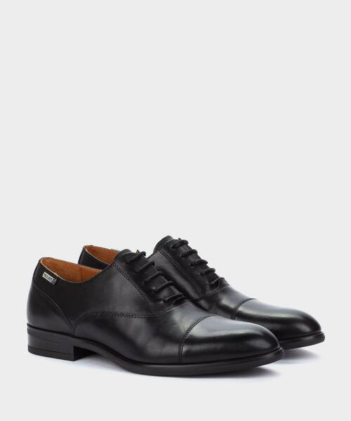 Shoes | BRISTOL M7J-4184 | BLACK | Pikolinos