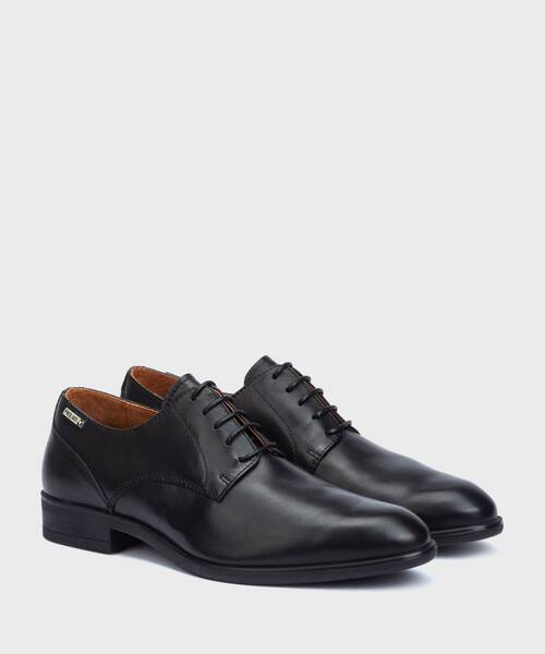 Shoes | BRISTOL M7J-4187XL | BLACK | Pikolinos