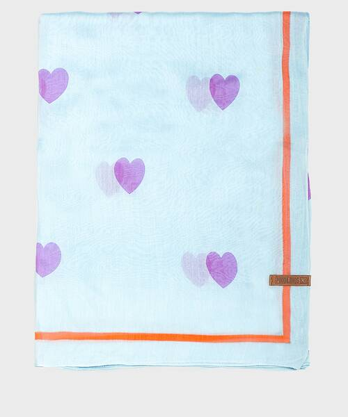 Foulards and scarves | COMPLEMENTOS WAC-F93 | LIGHTBLUE | Pikolinos